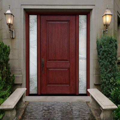 c217 cherry Door with trimlite rooftop glass